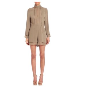 ZIMMERMANN Tie Neck Playsuit Dress