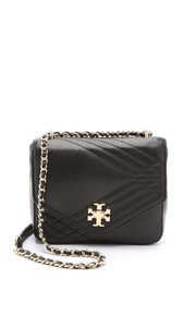 Tory Burch Lamb Leather Quilted Cross Body Bag