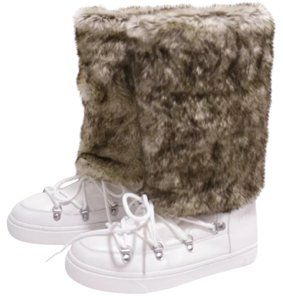 INC International Concepts white multi Boots