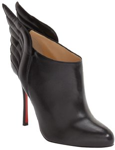 Christian Louboutin Ankle Mercura Wing Black Boots