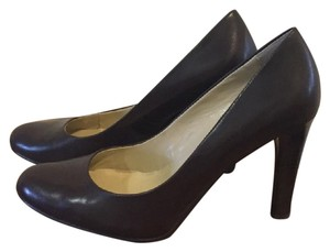 Ralph Lauren Zamora Career Brown Pumps