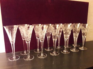 Waterford Millenium Champagne Flutes
