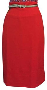 LuLaRoe Pencil Stretchy Skirt Red