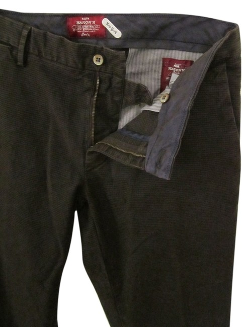 Mason's Khaki/Chino Pants Dark Brown