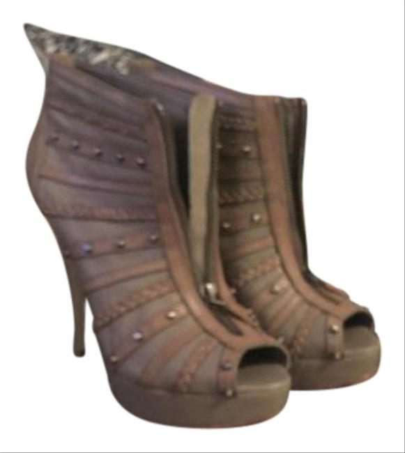 Item - Nude Bcbg Halstead Nappa Boots/Booties Size US 8