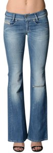 Diesel Louvely Stretchy Boot Cut Jeans
