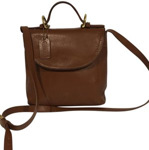 Coach Vintage Cognac Cross Body Bag
