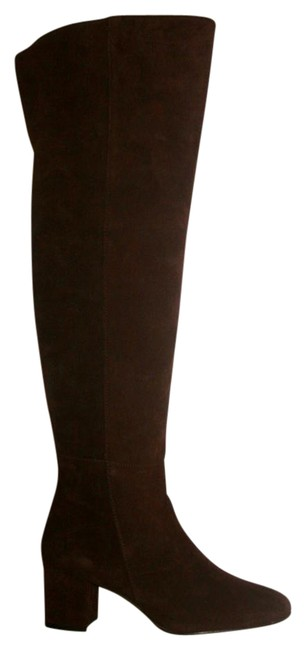 J.Crew Deep Maple Suede Over-the-knee 5m Boots/Booties Size US 6.5 Regular (M, B) J.Crew Deep Maple Suede Over-the-knee 5m Boots/Booties Size US 6.5 Regular (M, B) Image 1