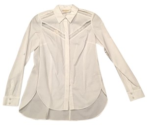 Rebecca Taylor Button Down Shirt white