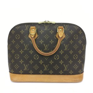Louis Vuitton Lv Selvedge Pm Monogram Canvas Tote in brown