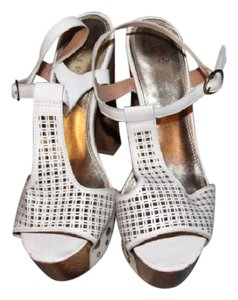 Bakers White/Brown Sandals