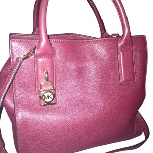 Michael Kors Satchel in Merlot