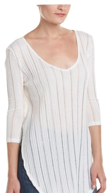 Preload https://img-static.tradesy.com/item/20414808/free-people-astoria-colorpattern-ivory-design-details-semi-sheer-ribbed-knit-design-34-length-sleeve-0-1-650-650.jpg