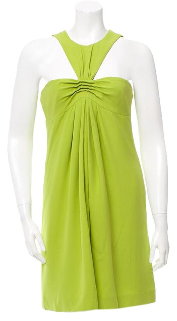 Preload https://img-static.tradesy.com/item/20414895/michael-kors-bright-green-sleeveless-silk-mid-length-night-out-dress-size-4-s-0-2-650-650.jpg