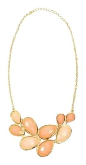 Body Central Body Central Peach Teardrop Necklace
