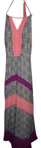 Pink/Purple/Black/White Maxi Dress by Dillard's