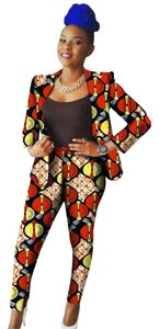 Boutique 9 CUSTOM DESIGNS Traditional Bazin Pant suits for Women.