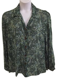 Liz Claiborne Top Green