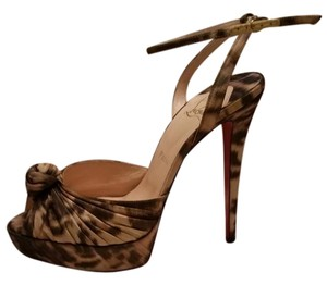 Christian Louboutin Louboutin Cl Madagascar Ankle Strap Multi Sandals