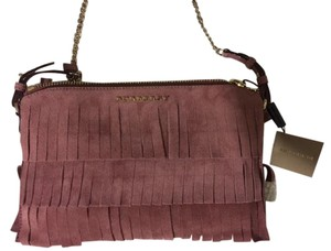 Burberry Suede Shoulder Bag