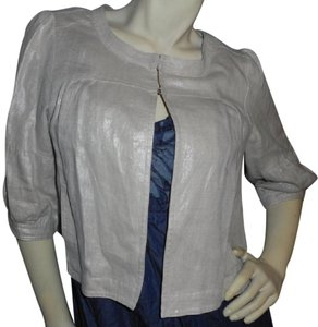 a.n.a. a new approach Cardigan Light Weight Dressy silver/ivory Jacket