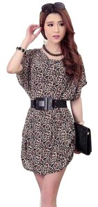 The Great China Wall short dress leopard on Tradesy