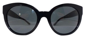 Versace VERSACE 4294 Medusa Round Cat Eye Black with Gold accents Sunglasses