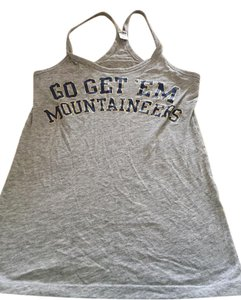 Victoria's Secret #wvu #wv #mountaineers #west Virginia #victorias Secret Top Gray blue gold