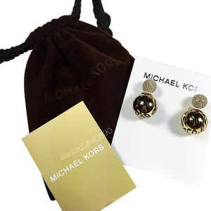 Michael Kors MICHAEL KORS LEOPARD STUD EARRINGS