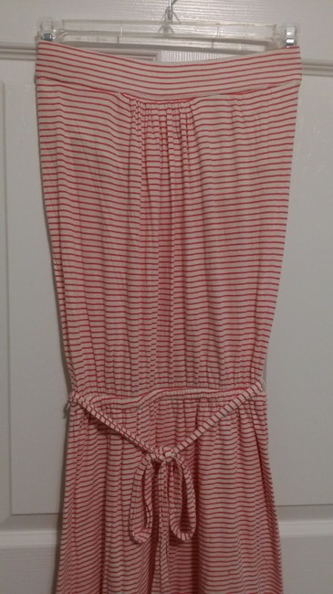 Banana Republic short dress Red and white stripe on Tradesy