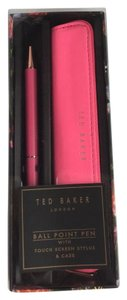 Ted Baker Ted Baker Stylus Pen Touchscreen Faux Leather Bag Case Pouch
