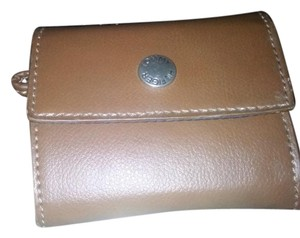 Tommy Hilfiger Tommy Hilfiger Brown leather coin wallet
