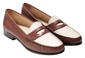 Cole Haan Leather White Mules