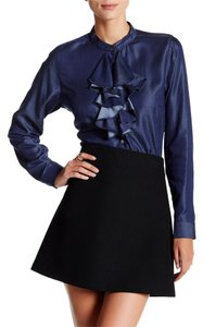 Nanette Lepore Button Down Shirt Indigo