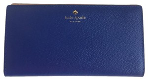 Kate Spade Kate Spade Grand Street Stacy Lapis Leather Card Coin Purse Wallet
