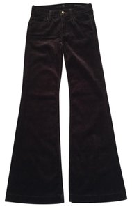 7 For All Mankind Flare Pants brown