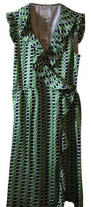 Kate Spade short dress green navy blue and white on Tradesy