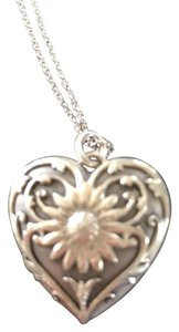 Tiffany & Co. Sterling Silver heart locket