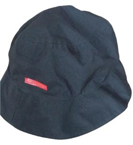 Prada Prada Milano black Nylon Bucket Hat Size large