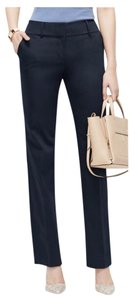 Ann Taylor Straight Pants navy