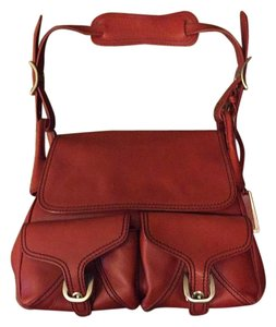 Joy Gryson Satchel in Red