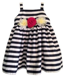 Koala Baby Boutique short dress White and blue stripes on Tradesy