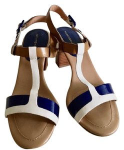 Tommy Hilfiger Blue & White Pumps
