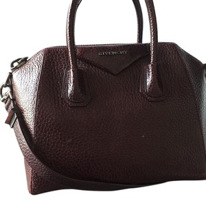 Givenchy Satchel in merlot.