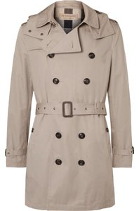 Burberry Mens Trench Taupe Coat