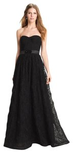 Adrianna Papell Rosette Ball Gown Formal Dress