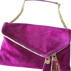 Henri Bendel fuschia Clutch