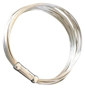 Tiffany & Co. sterling multiwire bracelet