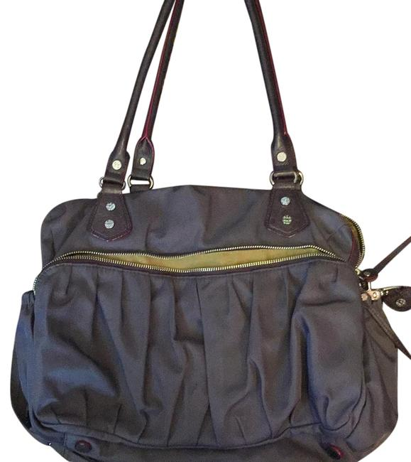 Item - Kate Muted Purple Bedford Nylon Satchel