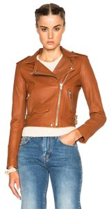 IRO Rag & Bone Isabel Marant Tory Burch Acne Studios Veda Brown Leather Jacket